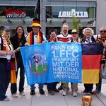 Fanclub & Friends vor dem 1. Gruppenspiel der WM 2015 in Kanada