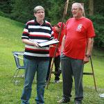 Ernennung Shorty Hauptvogel zum Ehrenmitglied beim Sommerfest 2013