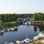 Hafen und Schleuse in Dömitz