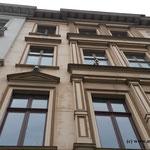 denkmalgeschützte Fassade vorher