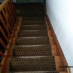 Holzwerk Treppenhaus vorher