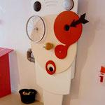 Peinlichkeitsmaschine im Frankfurter Kindermuseum