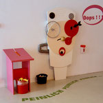 Peinlichkeitsmaschine im Kindermuseum Frankfurt