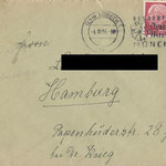 Brief von Mutti 1955