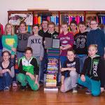 Die Leseratten der 2B-Klasse