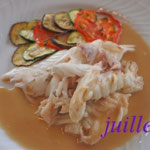 白身魚の塩包み焼き