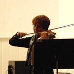 Danièle Calvayrac, violoniste. Concert autour des Femmes - 13 février 2012