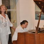 Suzanna Rosander et Marybel Dessagnes, le 18/05/13