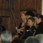 Les interprètes féminines du concert autour des Femmes - 13 février 2012