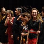 Les musiciens du concert du 29 mai 2012, Hommage au Japon, Salle des Arlucs, Cannes la Bocca
