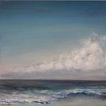 Ruhige See - Acryl auf Leinwand - 30x30x4 cm - 2014  (in Privatbesitz)