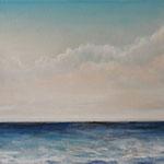 Ruhige See (2) - Acryl auf Leinwand - 30x60 cm - 2014/2017