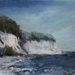 An der Küste (2) - Acryl auf Leinwand - 40x50 cm - 2015 (in Privatbesitz)