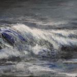 Welle (2) - Acryl auf Leinwand - 60x100 cm - 2014