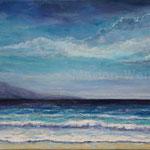 An der Küste (5) - Acryl auf Leinwand - 40x50 cm - 2017