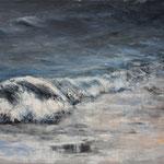 Welle (3) - Acryl auf Leinwand - 50x70cm - 2015
