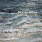 Am Meer (3) - Acryl auf Leinwand - 50x100 cm - 2014 (in Privatbesitz)