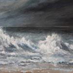 Brandung (4) - Acryl auf Leinwand - 40x60 cm - 2014 (in Privatbesitz)