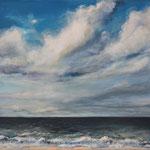 Am Meer (7) - Acryl auf Leinwand - 50x70 cm - 2015 (in Privatbesitz)