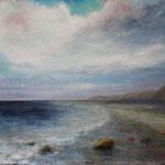 Am Meer (9) - Acryl auf Leinwand - 100x80 cm - 2013/2017
