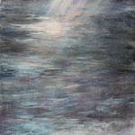 Am Meer (4) - Acryl auf Leinwand - 50x100 cm - 2014 - (in Privatbesitz)