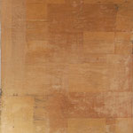 """""""Klebt"""", Mischtechnik auf Papier/Leinwand, 150x120cm, 2005"""