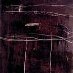 """""""Zeitlose"""", Mischtechnik auf Leinwand, 150x120 cm, 1997"""