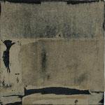 """Packpapier"", Mischtechnik auf Papier/Leinwand, 50x50cm, 2005"