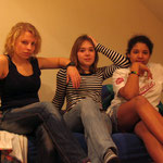 Maja, Katha und Ruby
