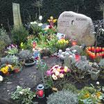 Karlas Grab am 6. März 2009