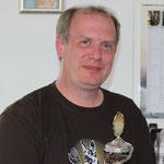 Arno Steinberger mit Raudi vom Haus Wendel, FH1 88-G