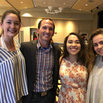 Speaker, Dr. Kevin Snyder, with students in the Officer Leadership Academy (OLA) at Elon University