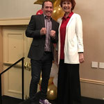 With speaker, Dr. Kevin Snyder, attending SHOWFEST '17