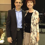 With speaker, Sam Wazen, attending the North Carolina Peace Action Award Dinner