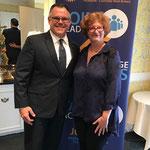 Speaker, Tim Counts, with Meg Weinberg