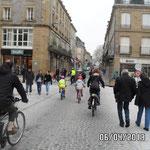 En centre ville on partage la rue