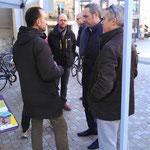 On discute avec Mr Soulier et son équipe