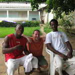 avec David Tobi et Madou Konaté
