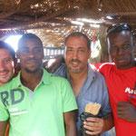 bamako avec Adama, Momo et Seydou