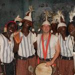 à Conakry avec Dani percussion