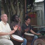 avec Karamoko Koné