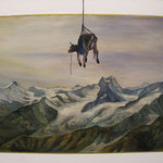 Alpia. Öl auf Lwd. 80x120