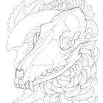 Skullgarden Coloring Book.
