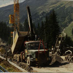 Transporte 4-er Sesselbahn Wallegg, Lenk BE, 1989