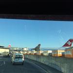Seilwechsel Skymetro Flughafen Zürich, Kloten ZH, 2015