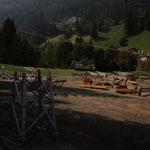 Montage GUB Adelboden - Tschenten Alp, Adelboden BE, 1991
