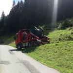 4 Tonnen Materialseilbahn, Schwendiberg (Kemmeriboden) BE, 2015