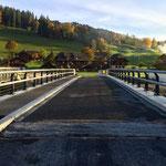 Brückengeländer neue Büetschlibrücke, Schangnau BE,