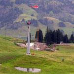 Montage 4-er Sesselbahn Steinetli - Hinter-Schwarzenegg, Sörenberg LU, 2005