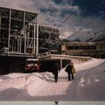 Montage Talstation Matterhorn Express und Furi, Zermatt